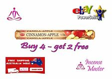 HEM CINNAMON APPLE -YOGA  Incense - HEX- 20g - 20 Sticks + FREE SAMPLES
