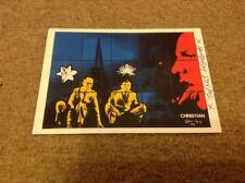 GILBERT and GEORGE   -  UK ARTISTS   -  SIGNED COL POSTCARD  - AUTHENTIC UACC