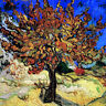 24 x 24 Art Van Gogh Mulberry Tree Mural Ceramic Backsplash Tile #1384