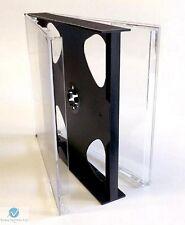 100 Doble Multi Cd Jewel Funda 23mm Con Negro Bandeja Nuevo Repuesto 2 Discos