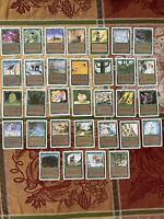 MTG Unlimited? & Revised (32) Green Common/Uncommon Cards NM-LP. Nice! See Pics!