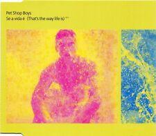 Pet Shop Boys Maxi CD Se A Vida É (That's The Way Life Is) - CD1 - Europe (M