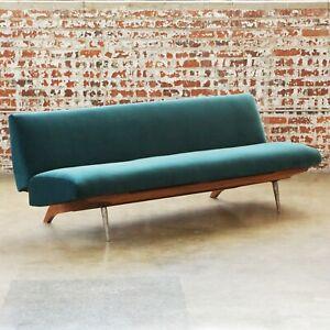 Marco Zanuso Sleeper Sofa Vintage Mid-Century Modern MCM Italian Folding Couch