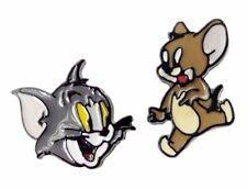 Looney Tunes TOM & JERRY Metal Enamel Post Stud Earring Set