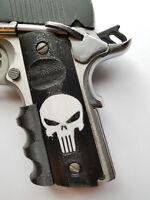 OTA 1911 Punisher Finger Grips Black and White Colt