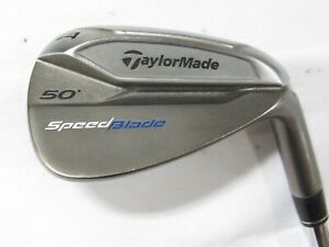 Used RH Taylormade Speedblade 50* Gap A Wedge Steel Shaft Stiff S Flex