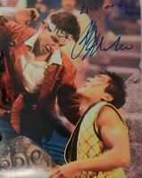 "Ralph Macchio Autographed Karate Kid II 8x10 Photo w/ ""Live Or Die, Man"""