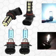 Combo 9006-100W-Halogen 9005-Samsung-LED 30 SMD White Headlight #Ga3 Light Bulb