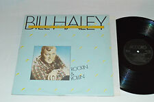 BILL HALEY AND THE COMETS Rockin' and Rollin' LP 1981 Accord Records France VG+