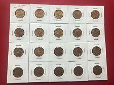 LOT OF 20 !!! MEXICO ESTADOS UNIDOS 1959 10 CENTAVOS COIN LOOKS GEM UNCIRCULATED