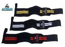 "ATRIUM 12""  WRIST STRAPS WEIGHT LIFTING FITNESS GYM Weigh TRAINING BODYBUILDING"