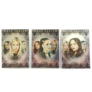 Buffy the Vampire Slayer Memories Three Slayers 2006 Inkworks Collector Cards