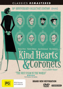 KIND HEARTS AND CORONETS: 70TH ANNIVERSARY COLLECTION EDITION [NEW DVD]