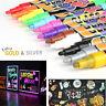 12 Colors Liquid Chalk Pen/Marker for Chalkboard Blackboard Glass Windows Erasab