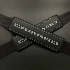 Camaro Seatbelt Harness Pad Red with Black