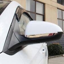 Outer Rear View Mirror Cover Strip Trim*2 For Hyundai Verna Accent Solaris 2018