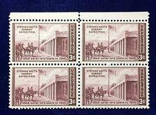 NANEE-B) US # 944, GENERAL KEARNY /SANTA FE,1946  BLOCK OF 4 MINT OG NH M190