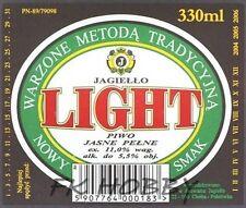 Poland Brewery Pokrówka Light Beer Label Bieretikett Etiqueta Cerveza pk5.5