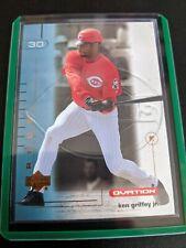 KEN GRIFFEY JR. 2002 Upper Deck OVATION #57 Cincinnati Reds