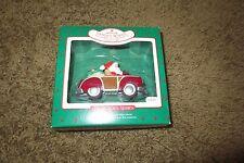 HALLMARK Keepsake Ornament SANTA'S WOODY Here Comes Santa 1987 No. QX484-7