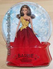 Barbie Collector Holiday Doll 2016 DRD25 rotes Kleid Sammlerpuppe Puppe NEU/OVP