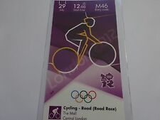 London 2012 Olympic Games ORIGINAL CYCLING - ROAD RACE ticket 29th July MINT!