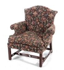 George Iii carved mahogany Chinese Chippendale library armchair Lot 30