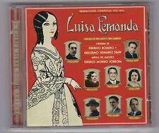 Luisa Fernanda on CD – rare zarzuela recording 1932