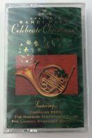 "Hallmark Sandi Patti ""CELEBRATE CHRISTMAS!"" Cassette Canadian Brass Mormon Choir"