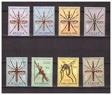 s16570) PORTUGUES COLONIES  MNH** 1962 Malaria 8v. Insects