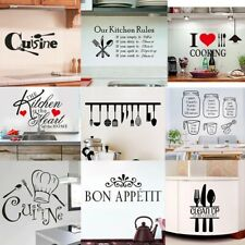 Vinyl Home Room Décor Art Quote Wall Decal Stickers Bedroom Removable Mural Diy