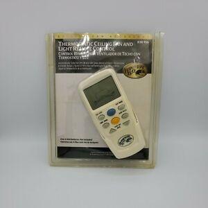 Hampton Bay LCD Display Thermostatic Remote Control