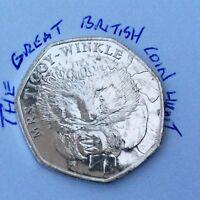 Beatrix Potter 50p Coins VGC