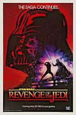 Star Wars Movie Poster * Revenge of the Jedi * Reprint * 13 x 19