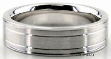 Platinum Herren Hochzeit Bänder, Platin Eheringe, Platin Hochzeit Bänder