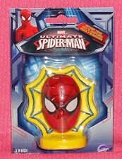 Spider Man Ultimate Birthday Candle,Wilton,2811-5072,Red,Wax Cake Topper