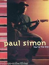 Paul Simon 2000 You'Re The One Promo Poster Original