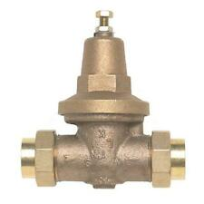 Wilkins 1 in. Brass Water Pressure-Reducing Double-Union FNPT Valve