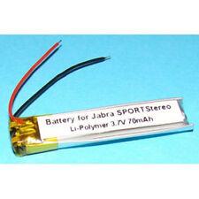 Battery HS11 AHB390836 B350735 3.7V 70mA for Jabra Sport Wireless & BT250V