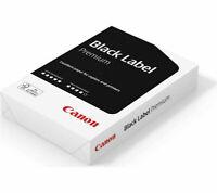 1 2 3 4 5 Reams CANON A4 Premium Black Label Office Photocopier Printer Paper