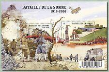Feuillet F5075 - La bataille de La Somme - 2016