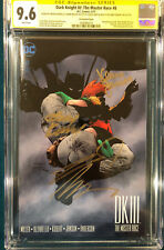 FRANK MILLER 4 SIGNED DK III The Master Race CGC 9.6 Andy Kubert Jim Lee Variant