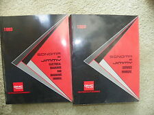 1993 GMC Sonoma Jimmy Service Manuals