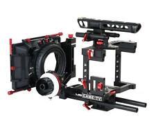 New CAME-TV BMCC Rig Mattebox A/B Follow Focus 15mm Rod Blackmagic