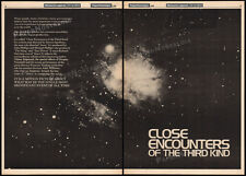 "CLOSE ENCOUNTERS OF THE THIRD KIND__Orig. ""1976"" Trade AD_7 page Teaser / poster"