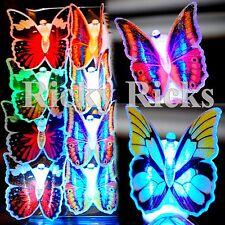 LED Fiber Optic Lamp Butterflies Night Light Butterfly Wedding Decoration