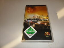 PlayStation Portable PSP  Need for Speed: Undercover USK-Einstufung: USK ab 12