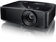 Proyector - Optoma HD27BE, 3400 lúmenes, Full HD 1080p, 3D, Modo Gaming
