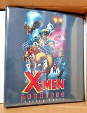 X-Men 3 ring Archives Trading Card Binder with promo card Marvel 2009 Album