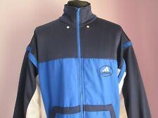 VTG Mens ADIDAS Blue Multi Polyester Track Suit Sport Top Size Large (e93)